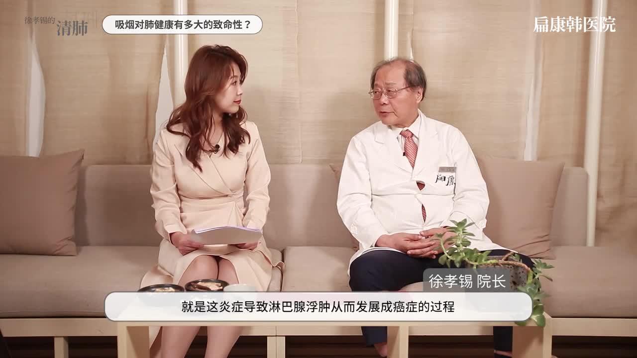 22讲-肺部疾病权威专家徐孝锡讲解!- 肺癌